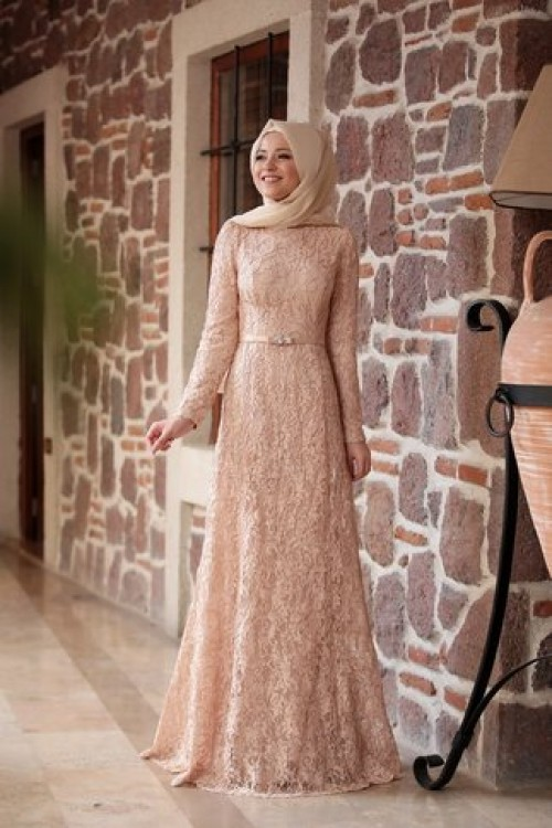 Al Marah Defne Elbise Gold