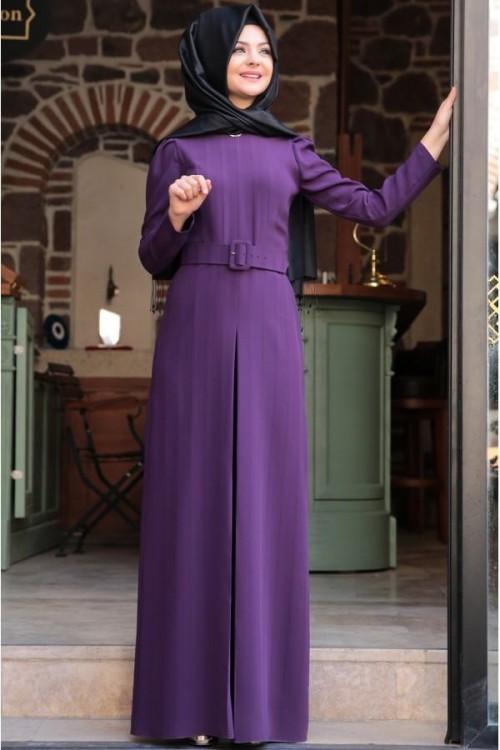 Pınar Şems Stil Tulum Mor
